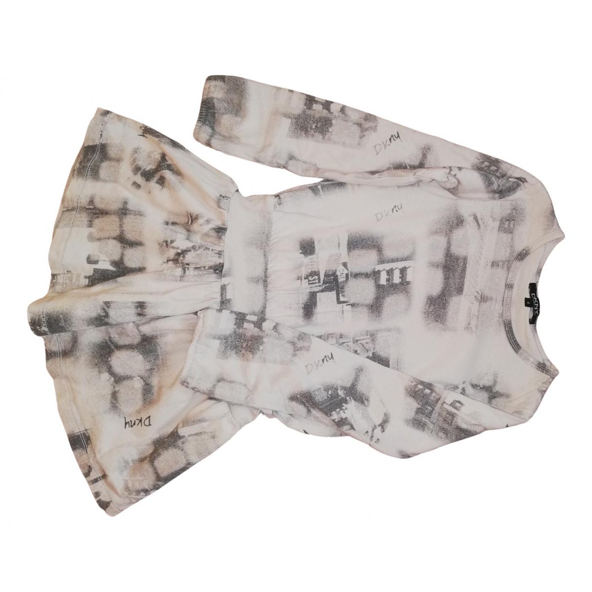 Dkny \N Kleid in  Bunt Baumwolle