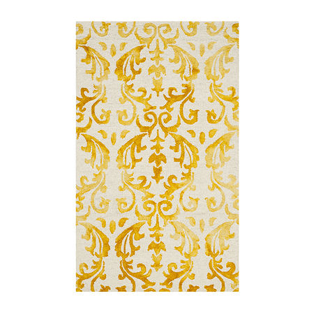 Safavieh Dip Dye Collection Mihail Floral Area Rug, One Size , Multiple Colors