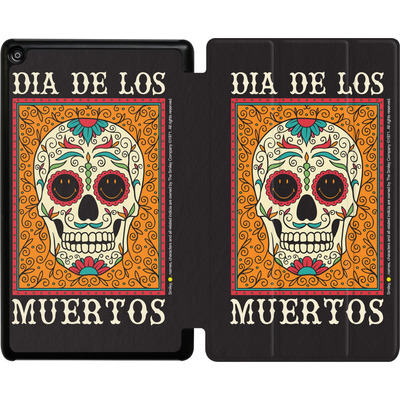 Amazon Fire HD 8 (2018) Tablet Smart Case - Dia De Los Muertos  von Smiley®
