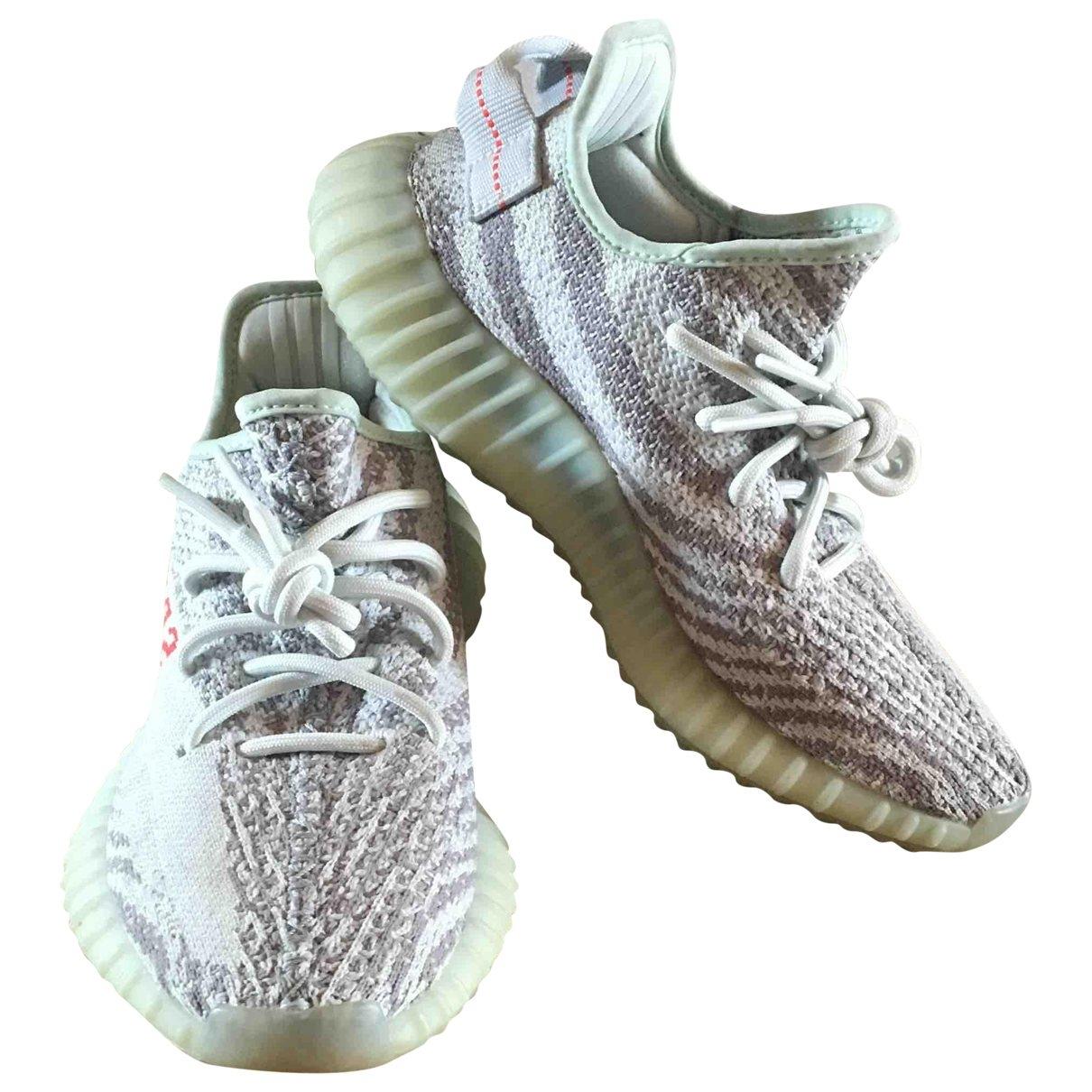 Yeezy X Adidas - Baskets   pour femme - gris