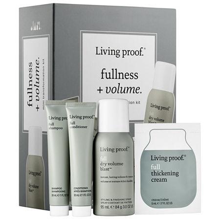 Living Proof Fullness + Volume Mini Transformation Kit, One Size , Multiple Colors