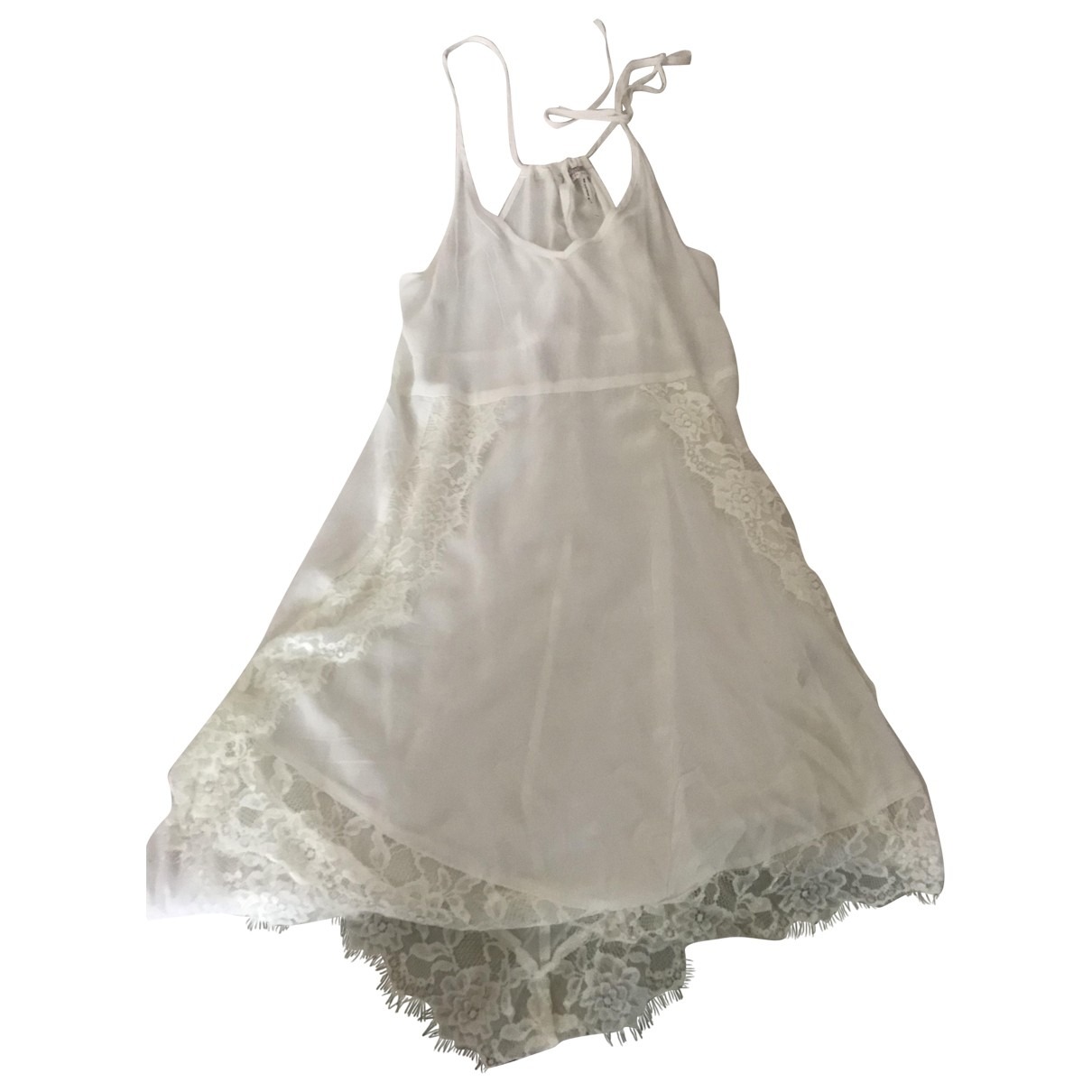 Free People \N White Lace dress for Women 4 US