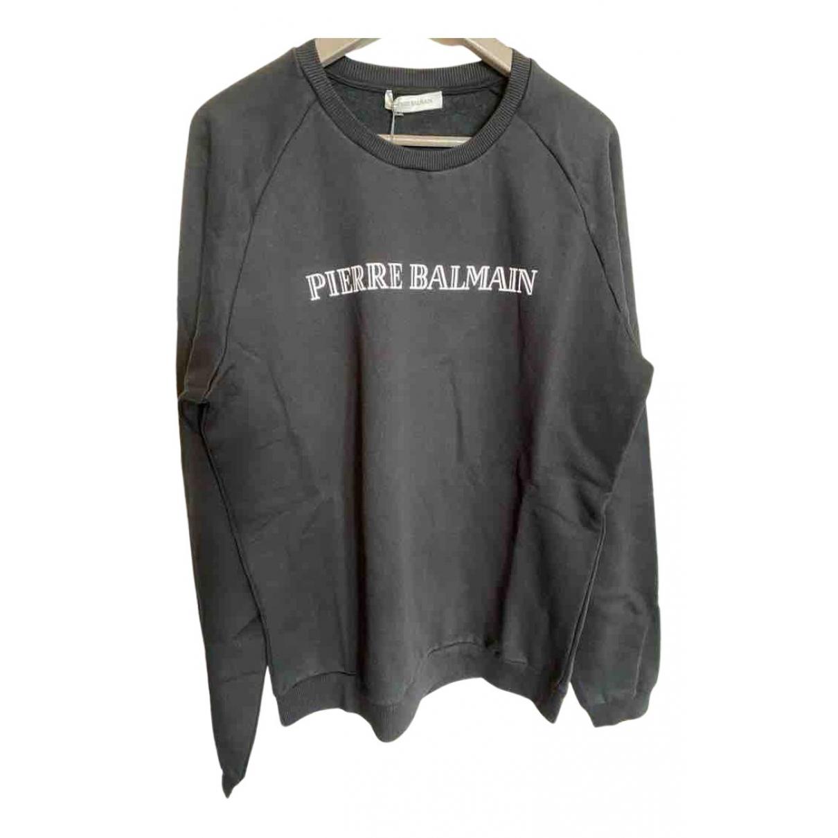 Pierre Balmain - Pulls.Gilets.Sweats   pour homme en coton - gris
