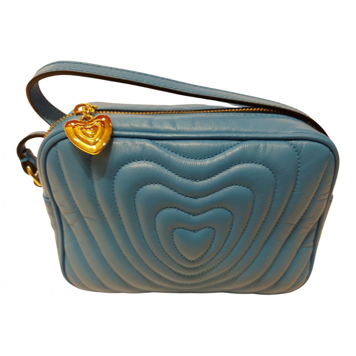 Escada N Blue Fur handbag for Women N