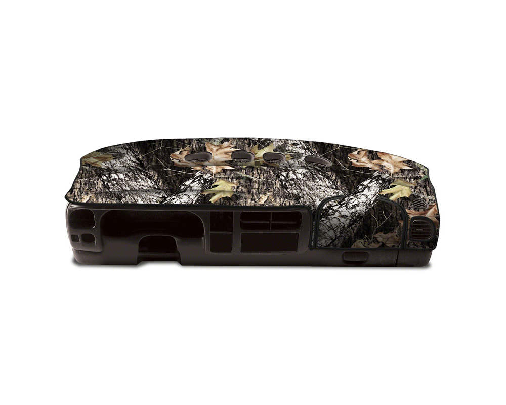 Cover King Custom Tailored VelourDashboard Cover Oak Break Up GMC Sierra 1500 | 2500 2014-2018