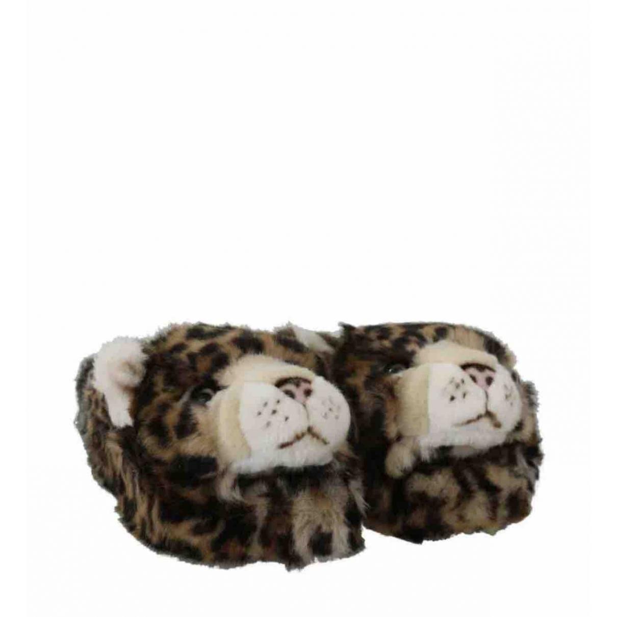 Zuecos de Pelo sintetico Dolce & Gabbana