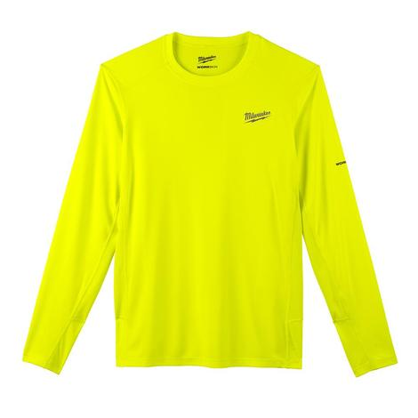 Milwaukee Workskin™ Lightweight Performance Shirt - Long Sleeve - HI Vis S