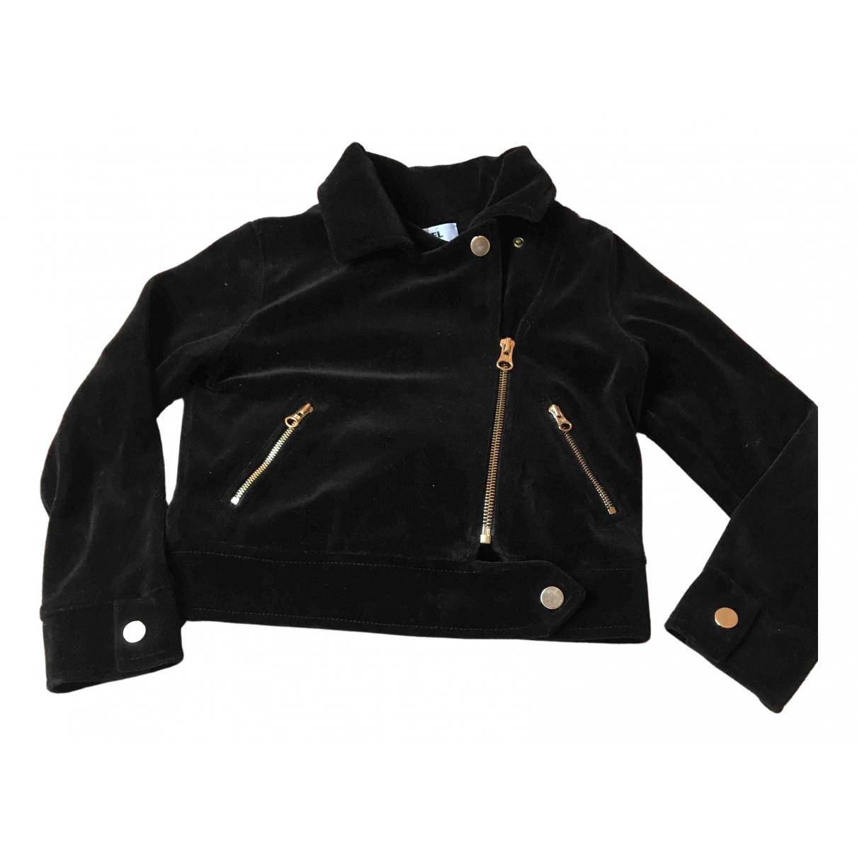 Sonia Rykiel N Black Velvet jacket & coat for Kids 6 years - up to 114cm FR