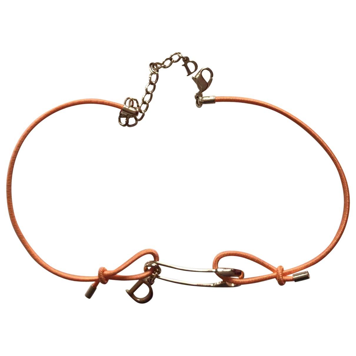 Dior - Collier   pour femme en metal - orange