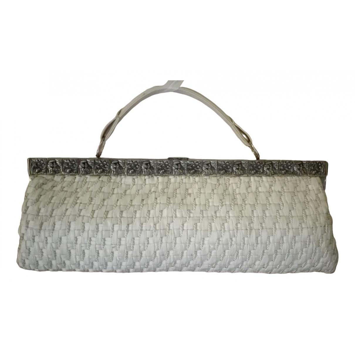 - Pochette   pour femme en coton - blanc