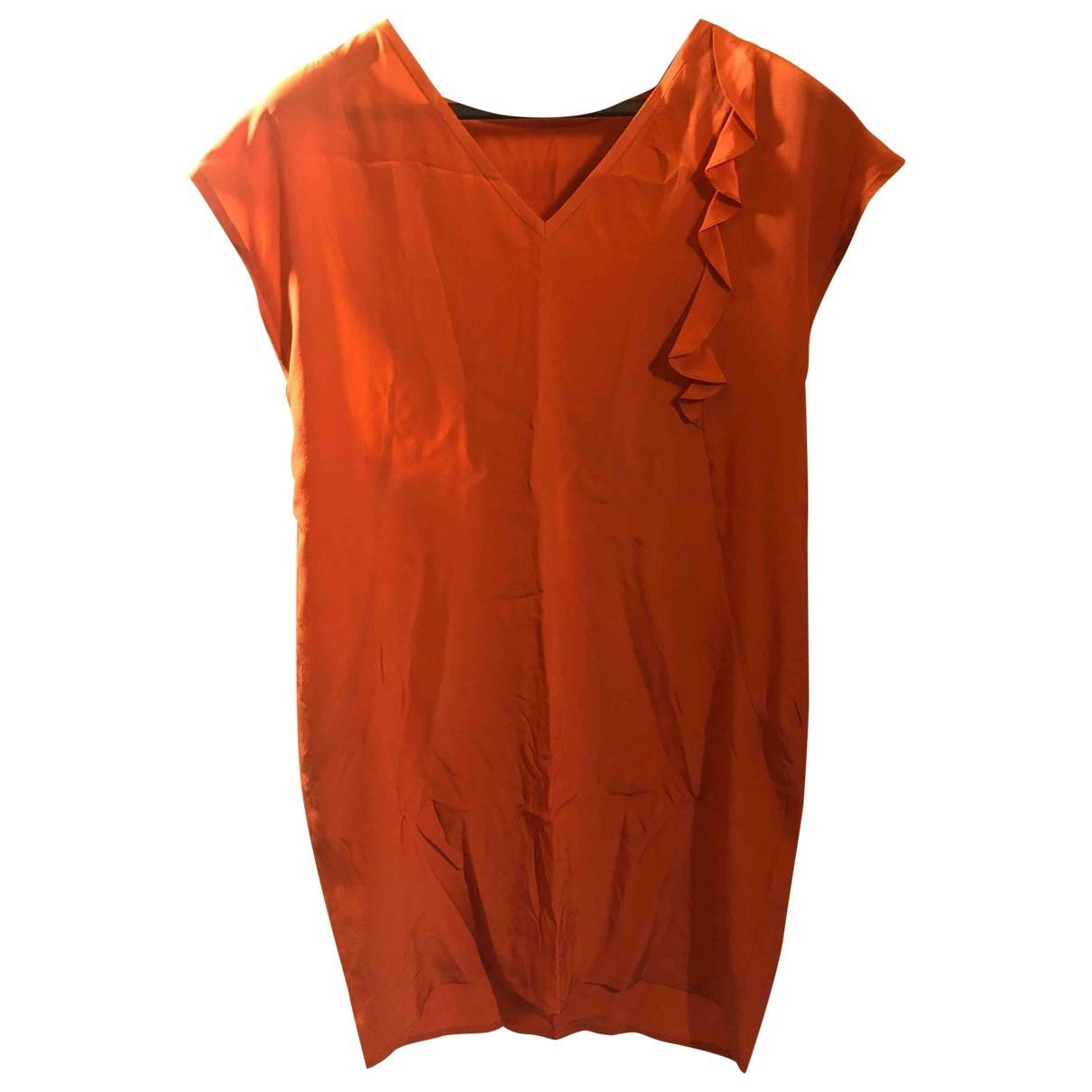 Non Signe / Unsigned \N Kleid in Seide