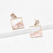 Cut Out Drop Earrings