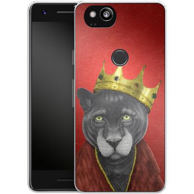 Google Pixel 2 Silikon Handyhuelle - The King Panther von Barruf