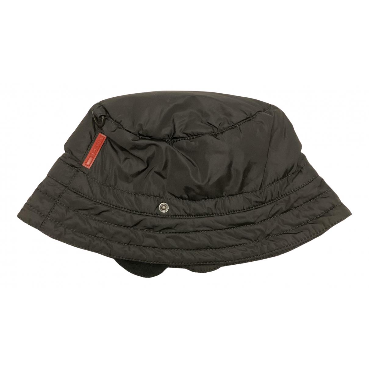 Prada - Chapeau & Bonnets   pour homme - noir