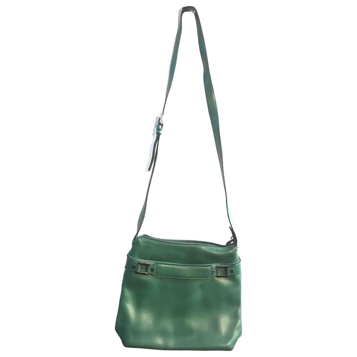 Le Tanneur \N Handtasche in  Gruen Leder