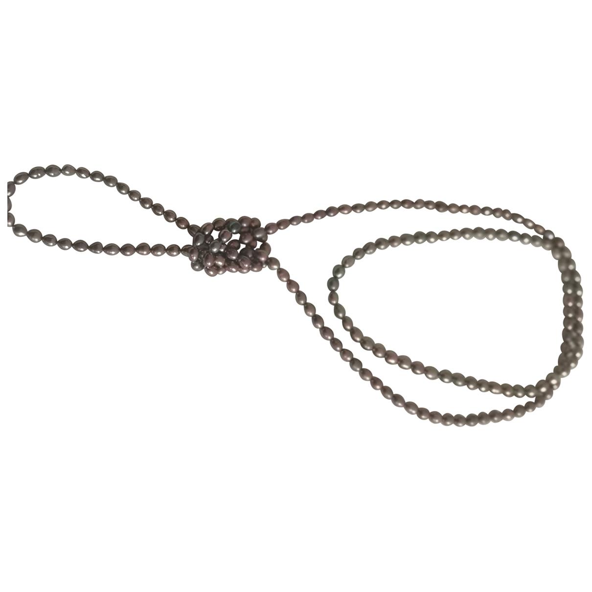 Non Signe / Unsigned Chaines Kette in Perlen