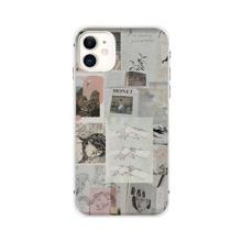 Figure & Gesture Collage iPhone Case