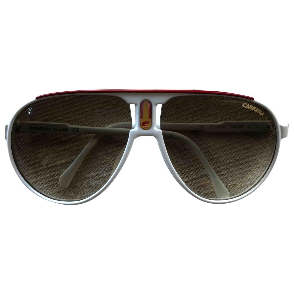 Carrera \N White Sunglasses for Women \N