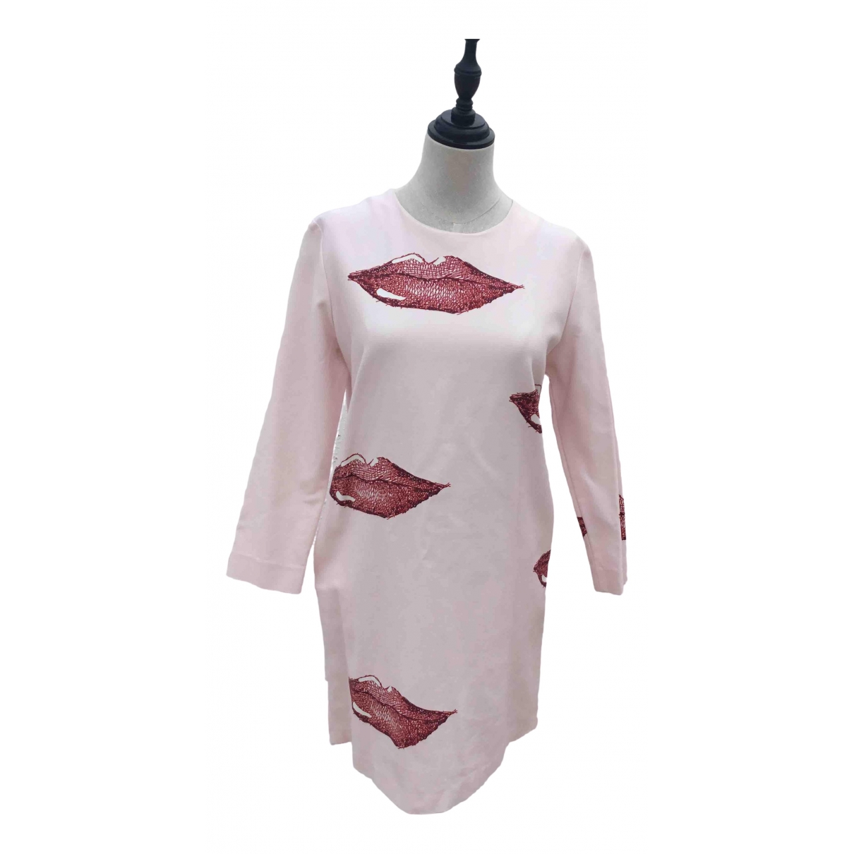 Bimba Y Lola \N Kleid in  Rosa Baumwolle - Elasthan