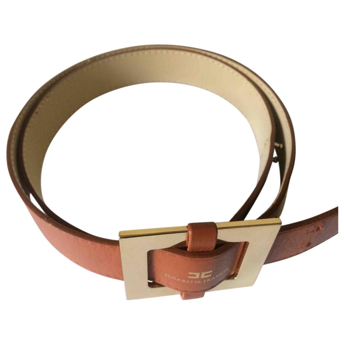Cinturon de Cuero Elisabetta Franchi