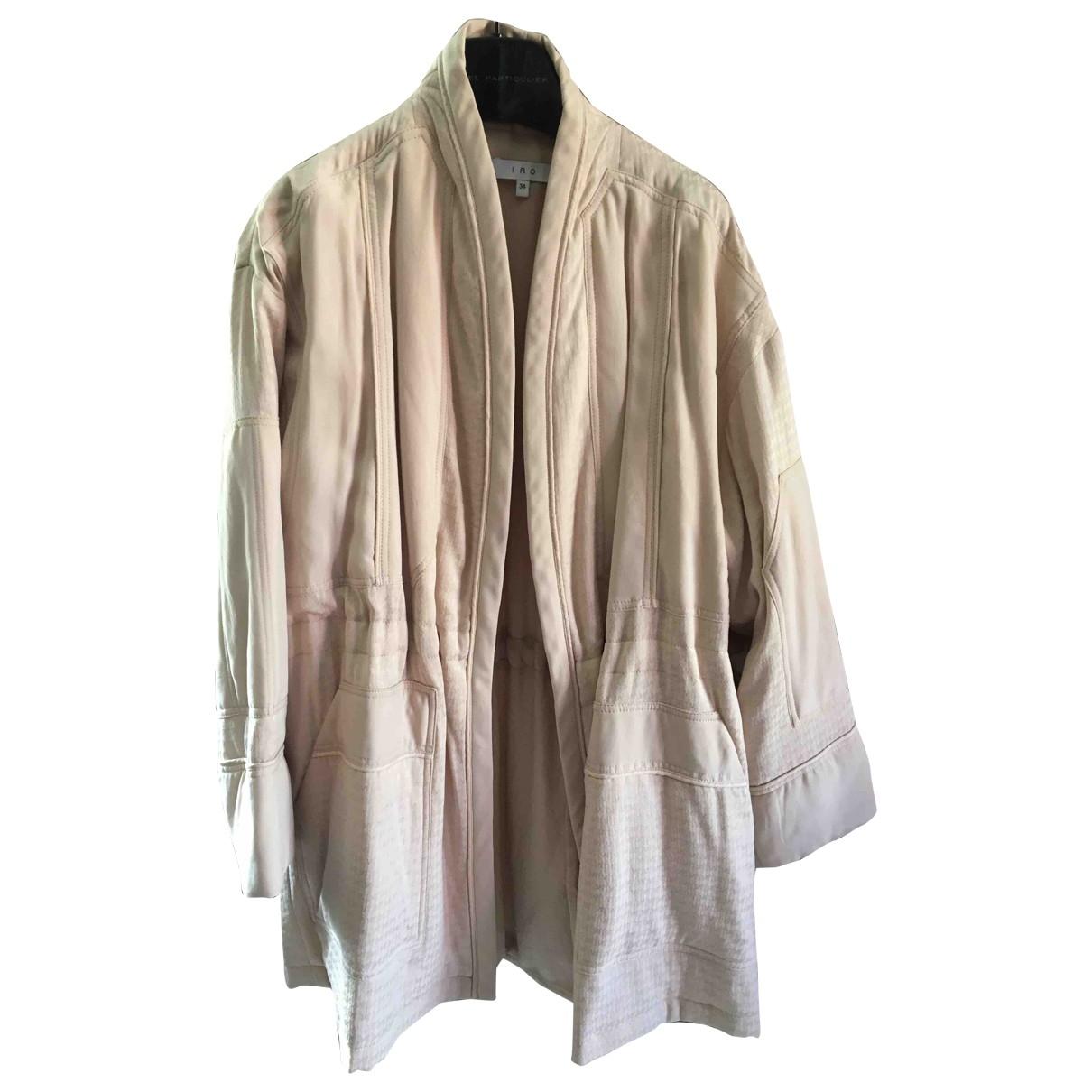 Iro - Manteau   pour femme - rose