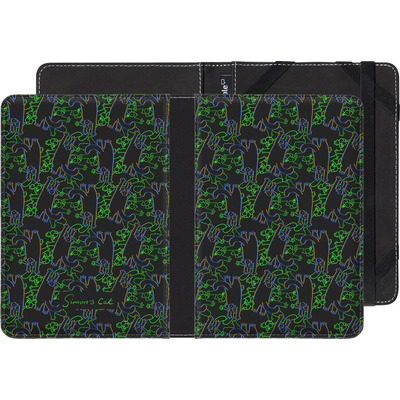 tolino page eBook Reader Huelle - Simon´s Cat Black and Green Pattern von Simons Cat