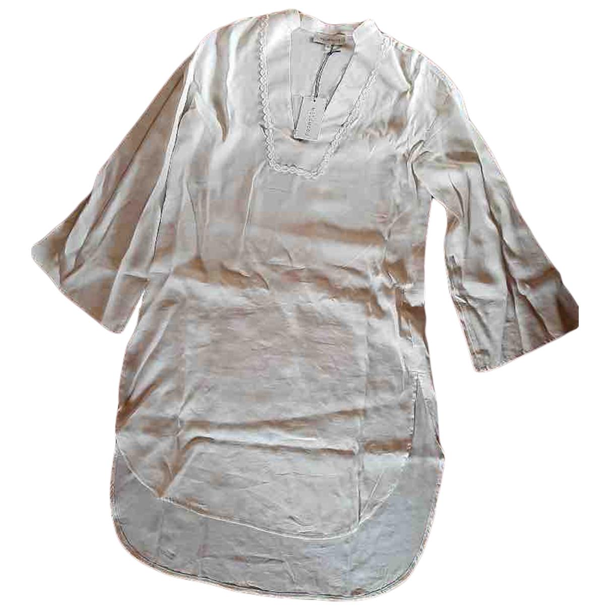 - Robe Oversize pour femme - blanc