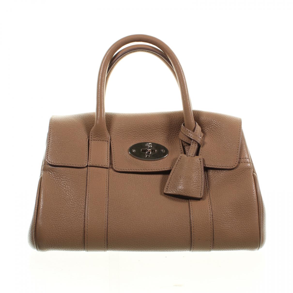 Mulberry Bayswater Beige Leather handbag for Women \N