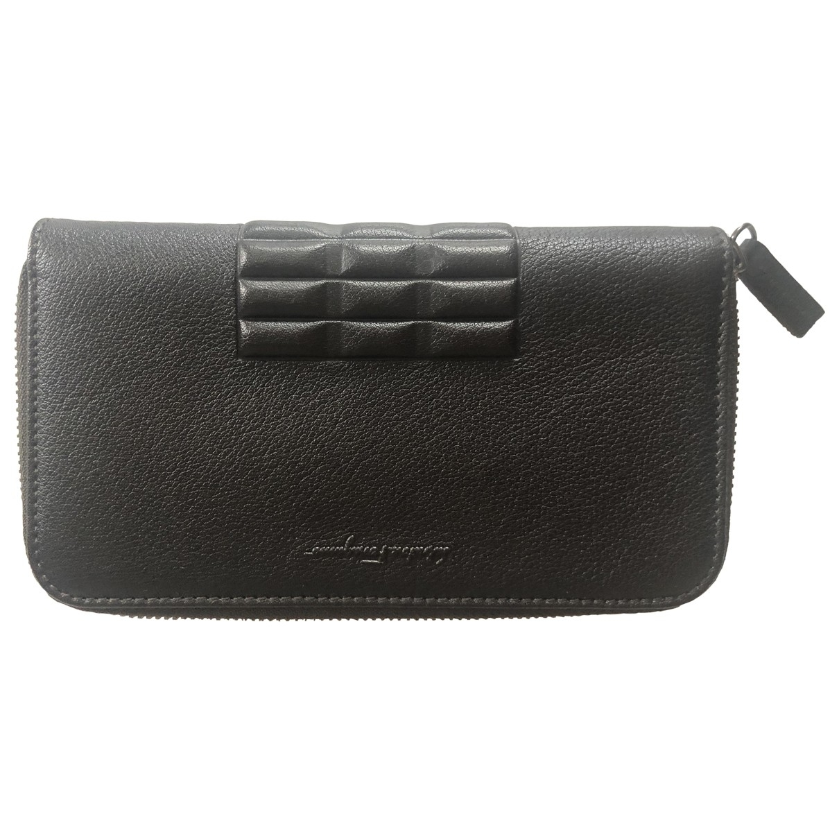 Salvatore Ferragamo \N Brown Leather wallet for Women \N
