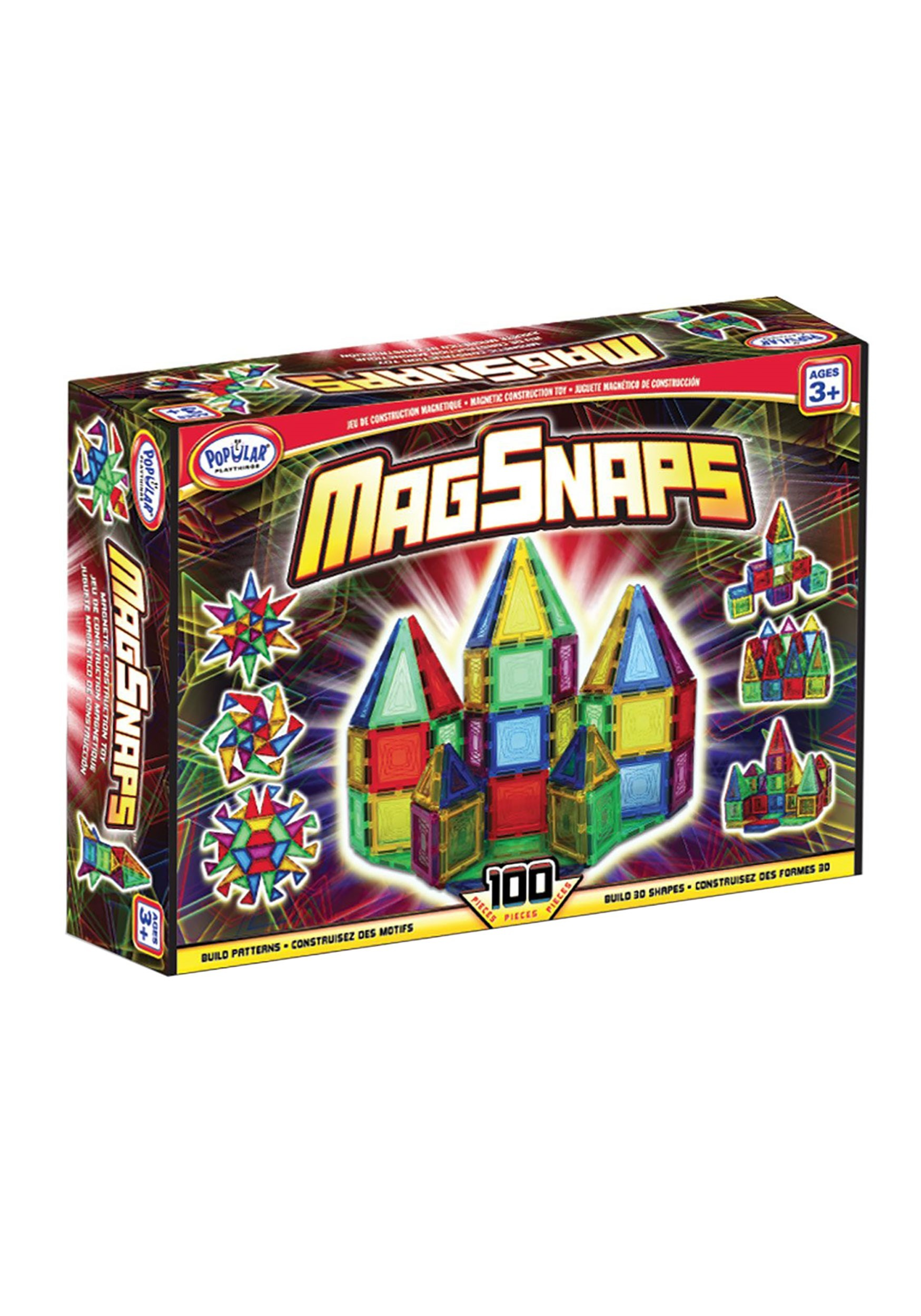 100 Piece Set Magsnaps