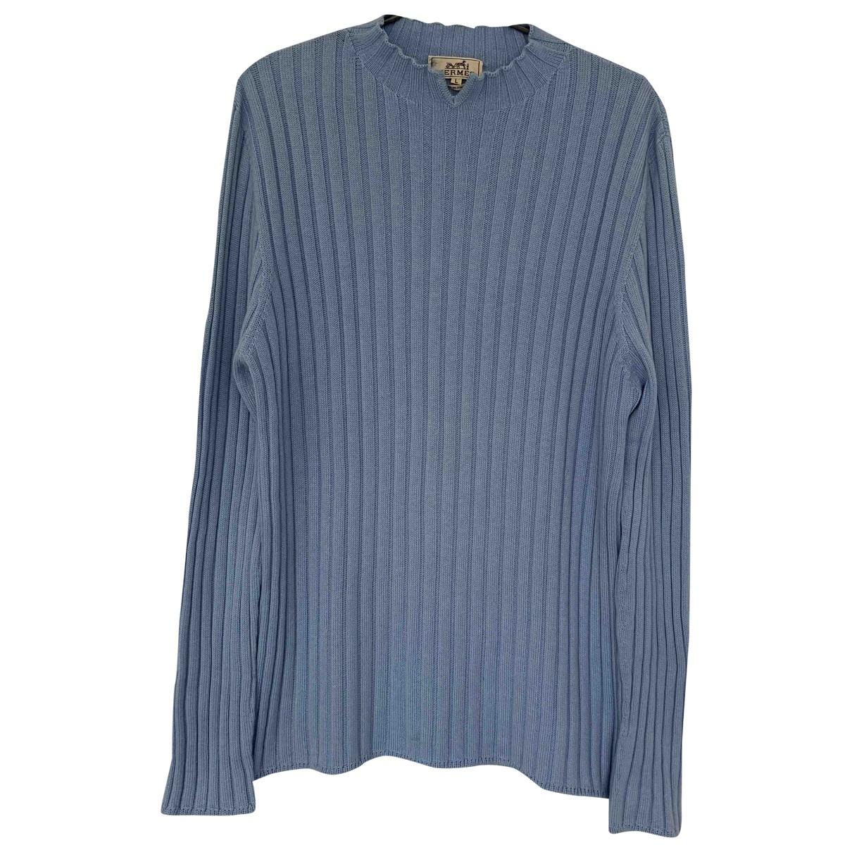 Hermès \N Blue Cashmere Knitwear & Sweatshirts for Men L International