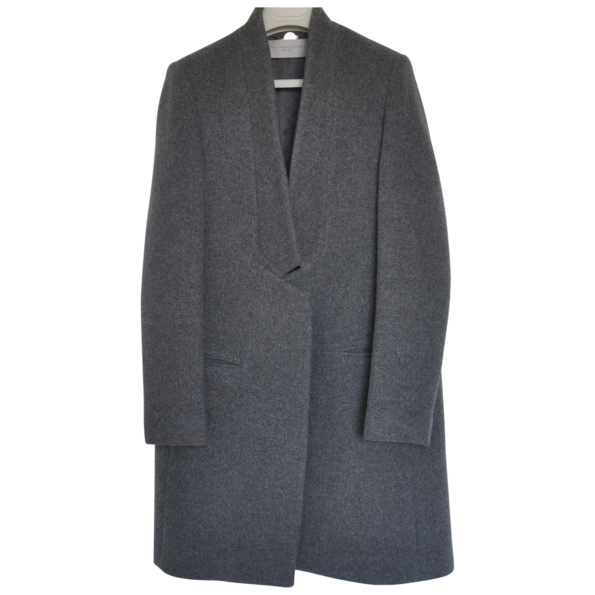 Stella Mccartney \N Grey Wool coat for Women 40 IT