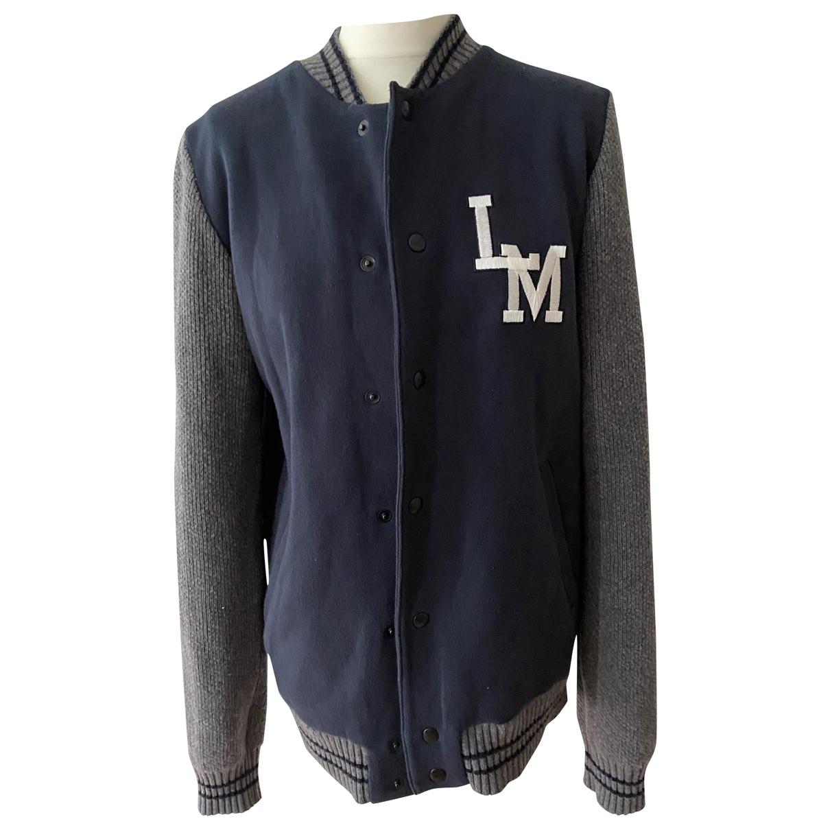Moschino Love N Blue Cotton jacket  for Men S International