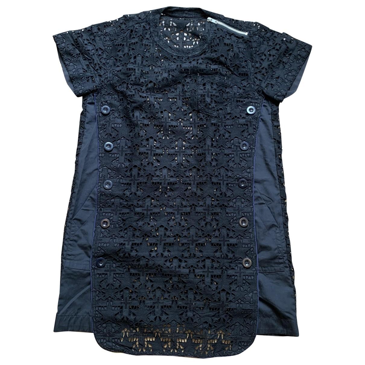 Sacai \N Kleid in  Blau Baumwolle