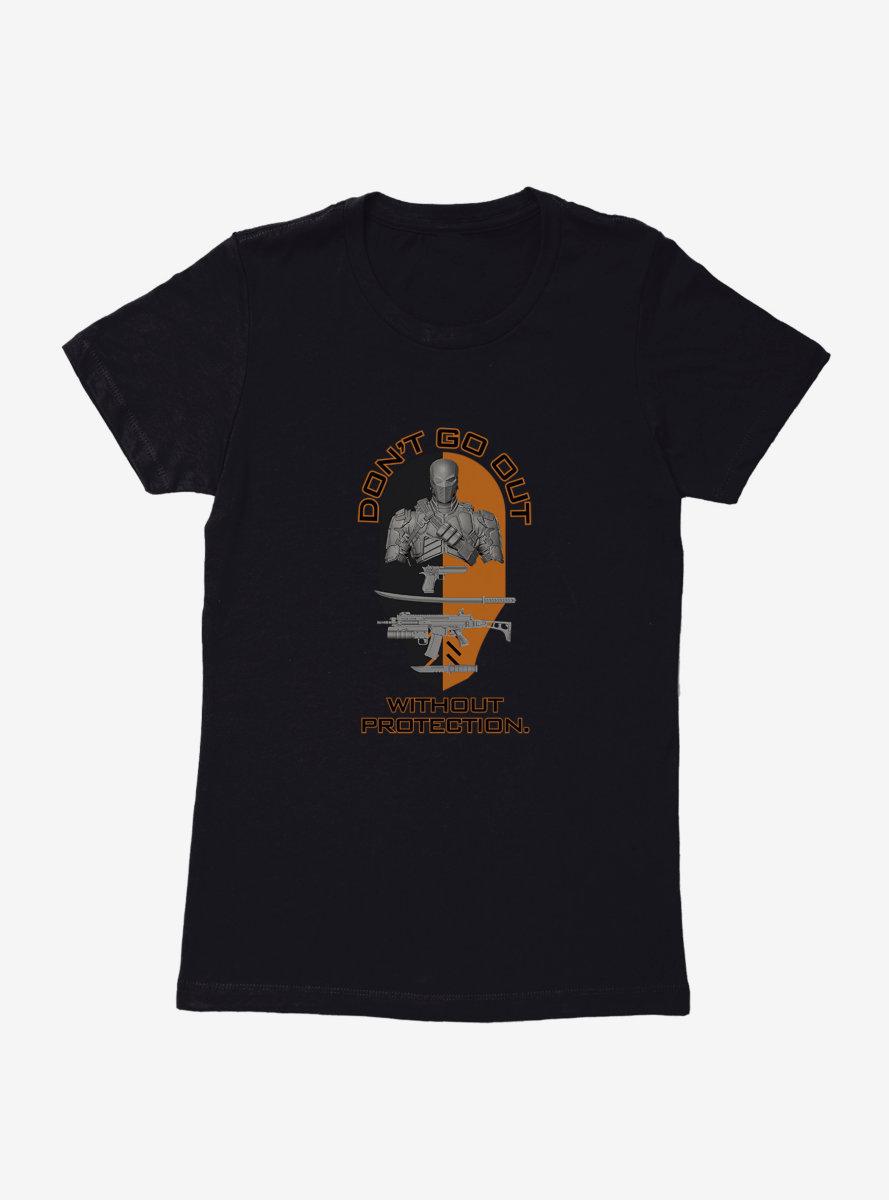 DC Comics Arrow Sobel Stay Protected Womens T-Shirt