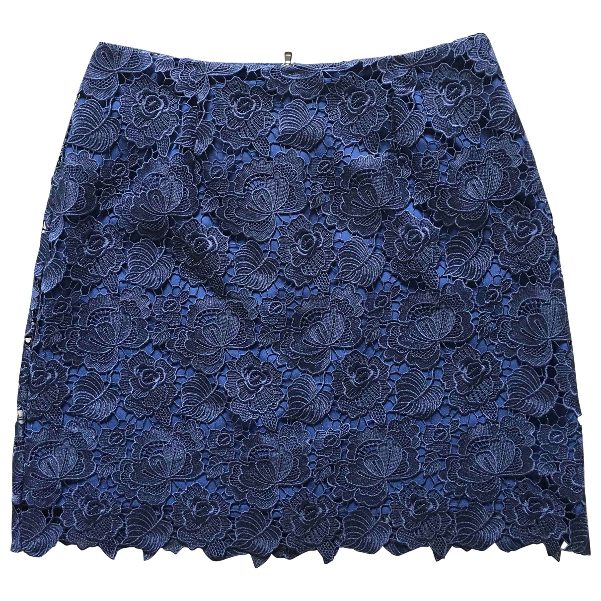Sport Max - Jupe   pour femme en coton - bleu