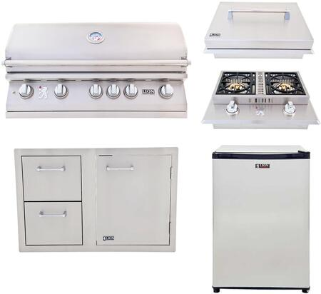 5 Piece Grill Package with 90823 40