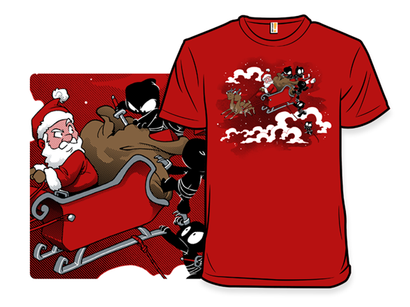 Unstealthiest Christmas T Shirt