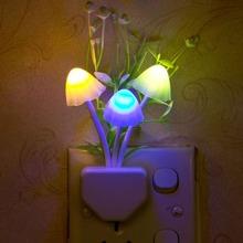 1pc Random Mushroom & Flower Design Night Light