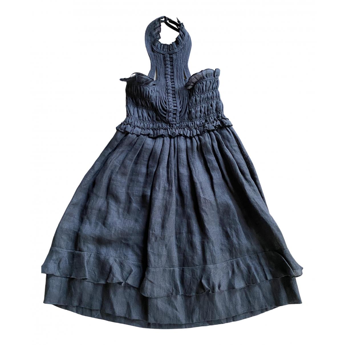 Isabel Marant - Robe   pour femme en lin - noir