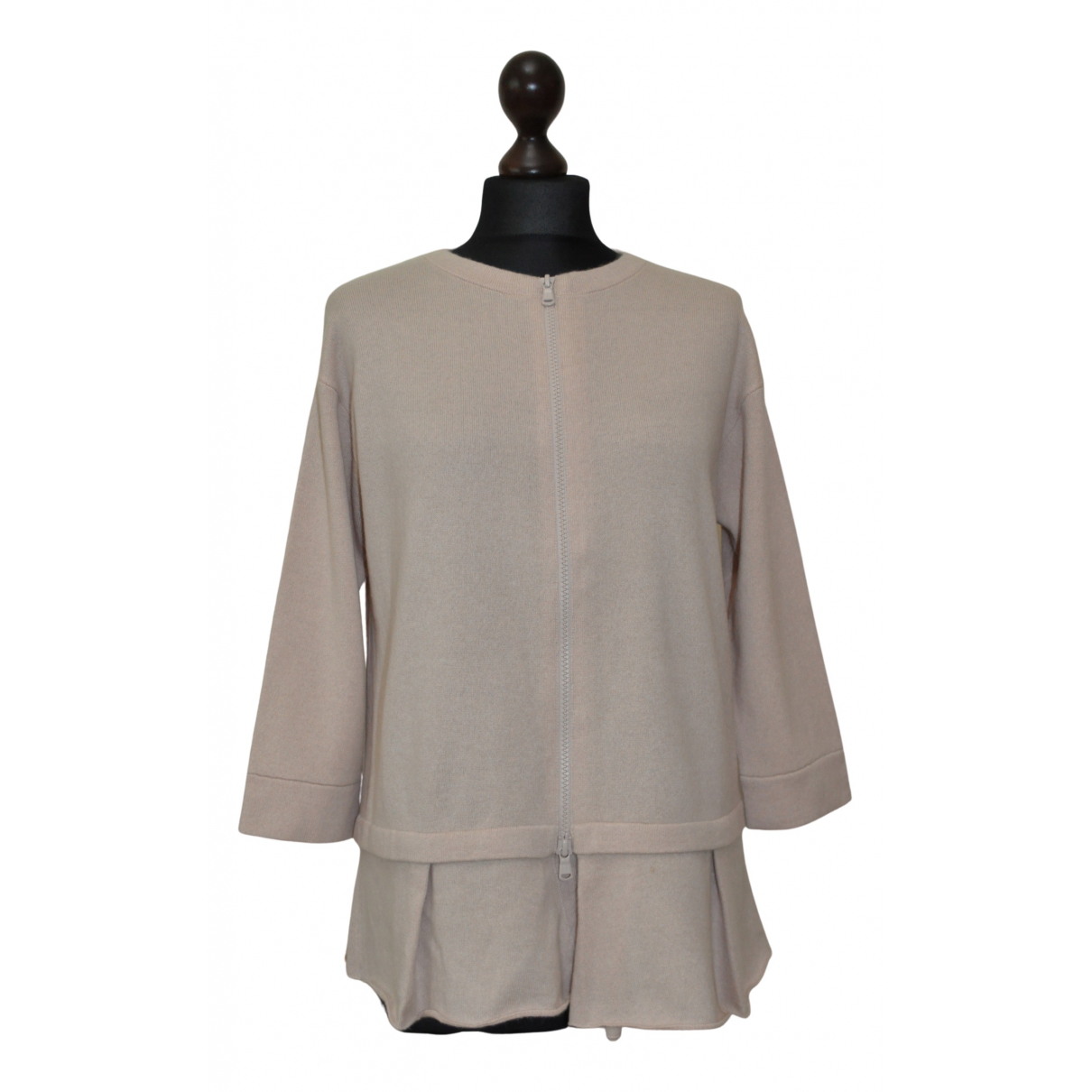 Brunello Cucinelli N Beige Cashmere Knitwear for Women M International