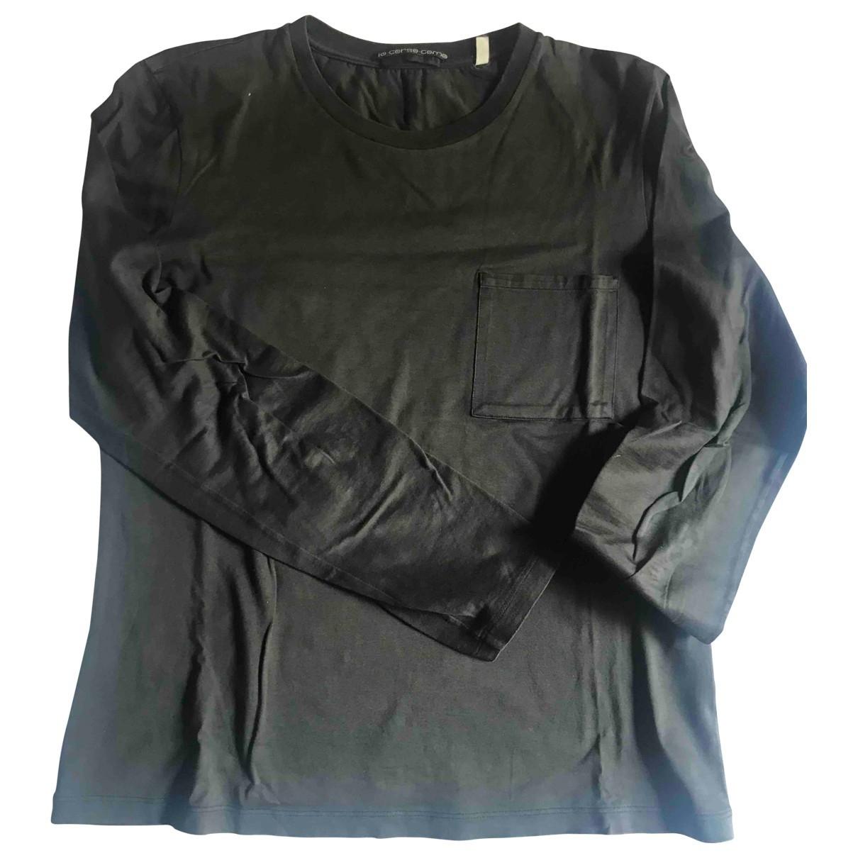Helmut Lang - Tee shirts   pour homme en coton - marron
