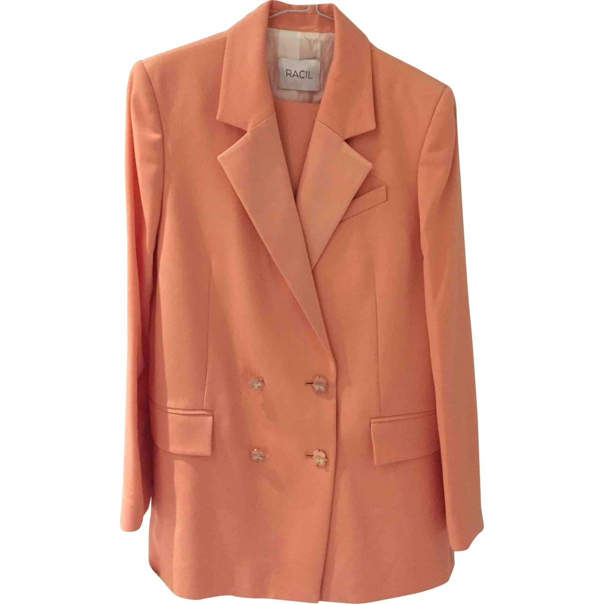 Racil \N Pink Wool jacket for Women 40 FR