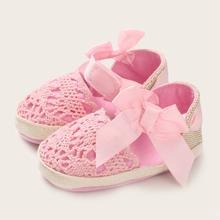Baby Maedchen Flats mit Schleife Dekor