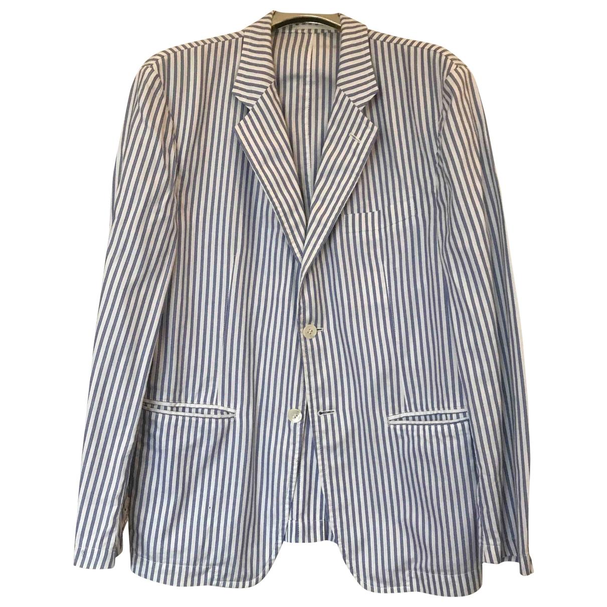 Comme Des Garcons \N Blue Cotton jacket  for Men L International