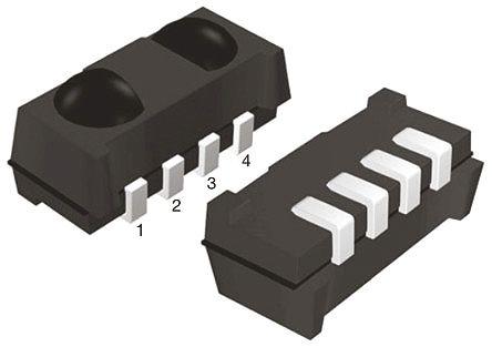 Vishay TSSP77P38TT, 38kHz IR Detector, 940nm ±50 °, 40m Range, 2.5 V - 5.5V, SMT, 6.8 x 3 x 3.2mm (10)