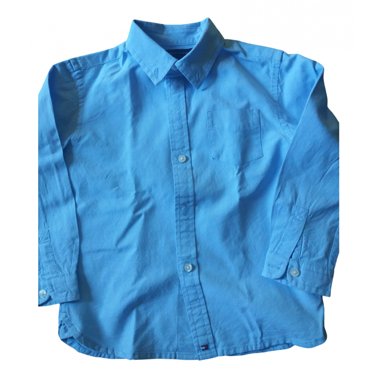 Tommy Hilfiger \N Blue Cotton  top for Kids 3 years - up to 98cm FR