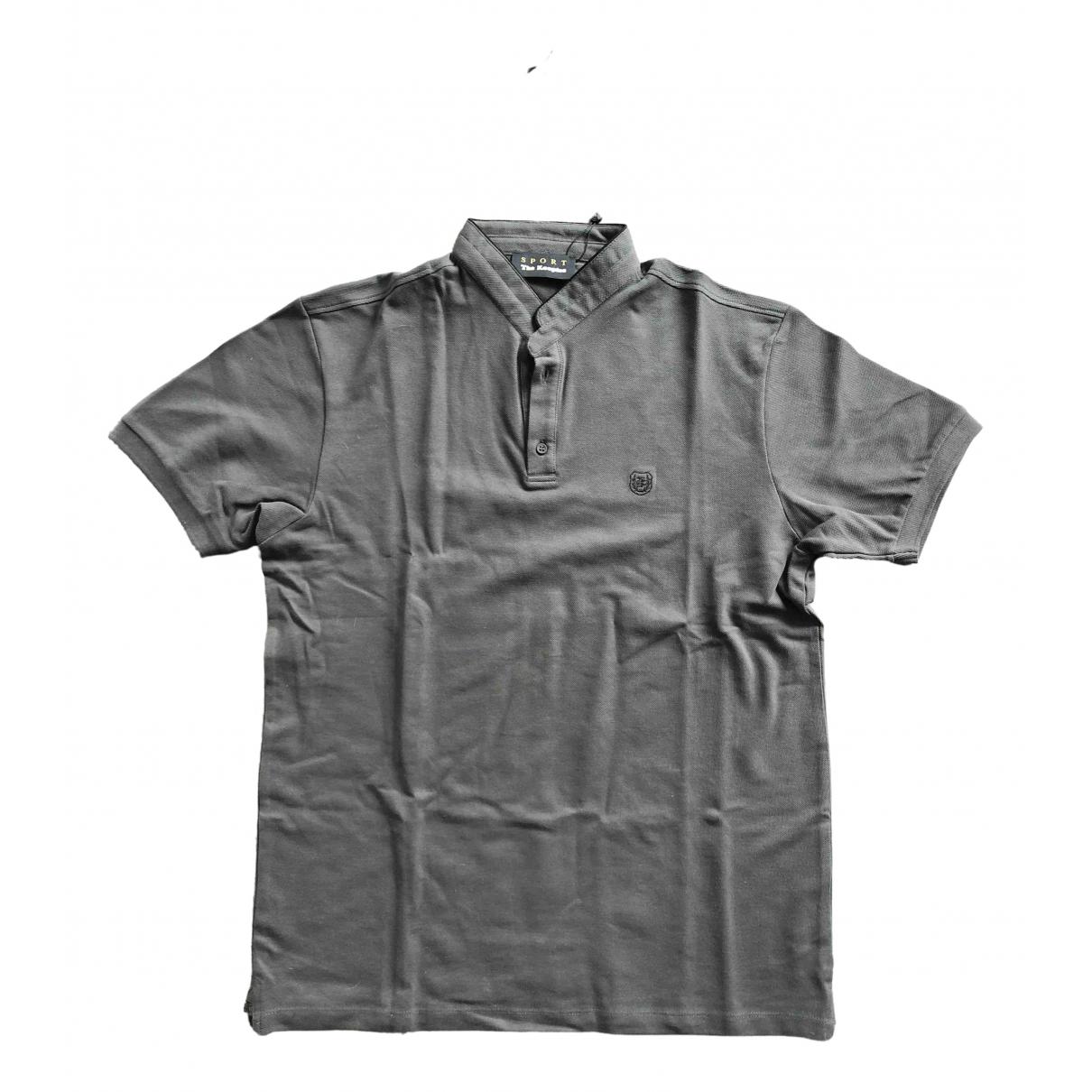 The Kooples - Polos   pour homme en coton - gris