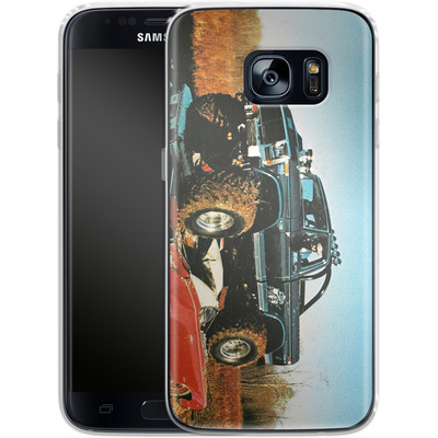 Samsung Galaxy S7 Silikon Handyhuelle - Bigfoot Seventies von Bigfoot 4x4