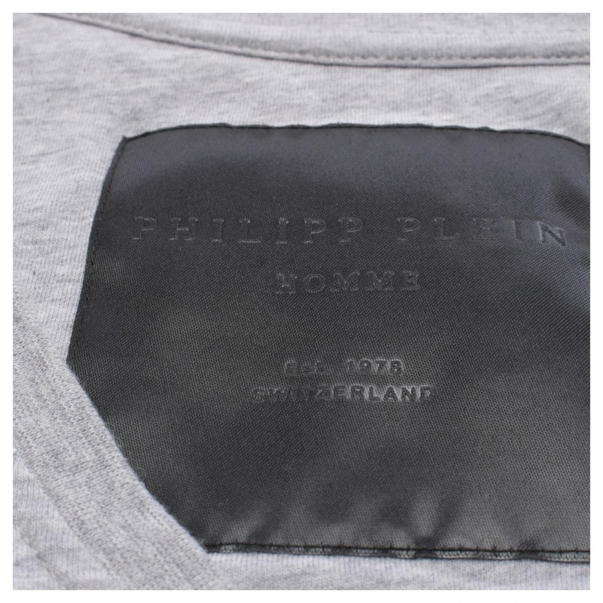 Philipp Plein - Top   pour femme en coton - gris